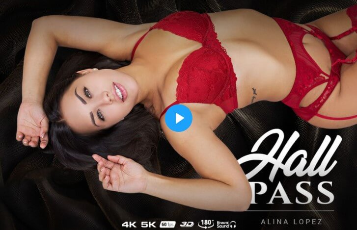 Alina Lopez in a VR porn video - site review by vrpornreviews.net