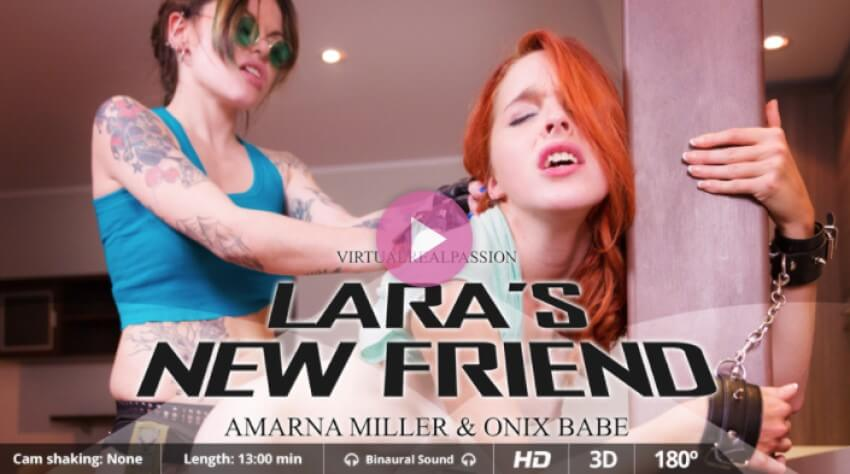 Lesbian Domination VR Porn